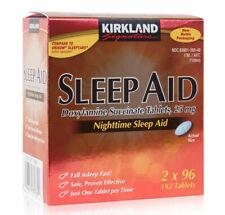 Kirkland Signature Nighttime Sleep Aid Doxylamine Succinate 192 Tablets