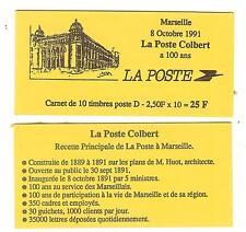 CARNET TYPE BRIAT D FRANC ROUGE N°2712C1 NEUF** MARSEILLE