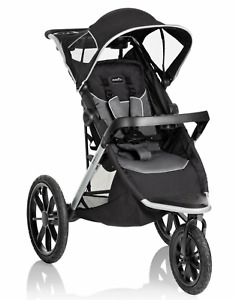 Evenflo Victory Plus Jogging Stroller, Gray Scale Lightweight Never Opened