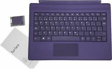 "Microsoft Surface Pro 3 & Pro 4 Purple Type Cover Keyboard 12"" Tablet US /Canada"