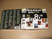 Greatest Hits Of The 80's (1998) 8 cd Box set Ex+ condition