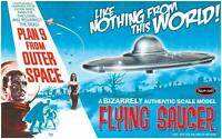 Polar Lights Plan 9 From Outer Space Flying Saucer model kit