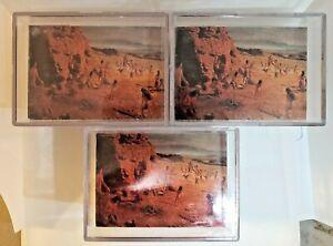 3 Sets! - 1996 Wild West the Art of Mort Kunstler Complete Set 1-72