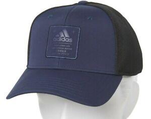 Adidas Navy/Black Arrival Baseball Cap Trucker Hat Snapback - Adjustable