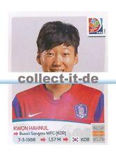 Panini Frauen WM World Cup 2015  - Sticker 356 - Kwon Hahnul