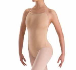 Convertible Nude Dance Leotards - Free Same Day posting - 2 sets of straps