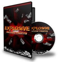 @@@ Explosive Ertragsgewinne Set 10 Videos usw mit PLR Rechten @@@