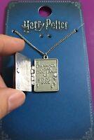 Primark Harry Potter The Marauder's Map Silver Locket Necklace Pendant