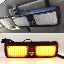 12V 86LED Car SUV Sun Visor SunShield Emergency Beacon Flash Strobe Light Amber