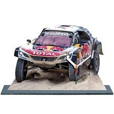 MODEL CARS, LOEB, Rally Dakar 2018, Peugeot 3008 DKR -02 with Clock,