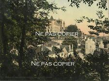 PAU la ville photochrome vers 1890-1900 Pyrénées-Atlantiques 64