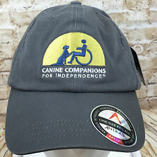 Canine Companions for Independence Gray Baseball Cap Hat Adjustable New w Tags