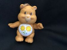 Vintage 1980s Care Bears Figure With Sunflowers On Belly, Good condition