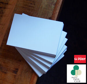 Blank Cards,35% Cotton 385gsm, Quality DIY Flat Cards, Cardstock Paper X 20