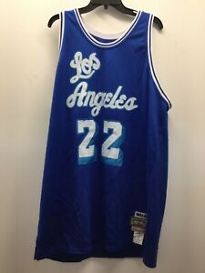 Elgin Baylor Los Angeles Lakers Authentic Mitchell & Ness Throwback Jersey Sz 56
