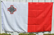 Big 1.5 Metre Republic of Malta Large New Flag 3x5ft - Maltese