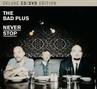 The Bad Plus ‎– Never Stop - DELUXE  - CD+DVD NEU