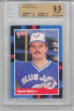 1988 Donruss David Wells (Rookie Card) SP (Tough BGS9.5) (#640) BGS9.5 BGS