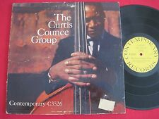 THE CURTIS COUNCE GROUP - CONTEMPORARY C3526 - RARE JAZZ LP