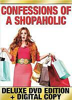 Confessions of a Shopaholic (DVD, 2009, 2-Disc Set, Includes Digital Copy) GOOD