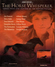 1998 Print Ad`Movie Ad`The Horse Whisperer`Songs`Robert Redford (021314)