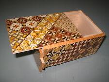4 Sun 7 Step Japanese puzzle box -NEW-