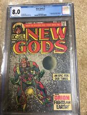 New Gods #1 CGC 8.0 1st App Orion, Metron, High-Father, Kalibak 1971 White Pages