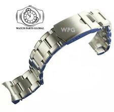 22mm Riveted Solid Steel Bracelet Watch Strap For Tudor Black Bay ETA Heritage