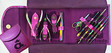 Professional Nail Artist Tools Kit Titanium Coated Multicolored Finish Nipper