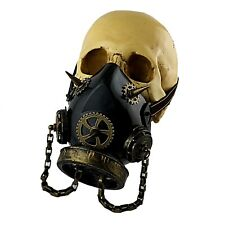 Gears Retro Steampunk Gothic Gas Mask Cosplay Costume Respirator 12SB8