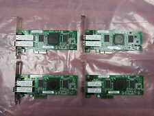 Lot of 4 SUN 375-3356-02 QLogic QLE2462 4Gb PCIe Dual Port Fibre Channel HBA
