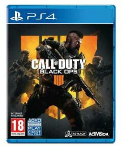 PlayStation 4 : Call of Duty: Black Ops 4 (PS4) VideoGames Fast and FREE P & P