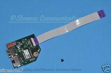 TOSHIBA Satellite L55-B5133 Ethernet, USB Port + LAN Port Board w/ Ribbon Cable