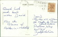 David c/o Miss N C Williams. St Martin de Porres School. Luton.  AG.736