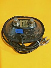 Fender '60's Footswitch 2 button Black RCA Princeton Deluxe Super Twin Reverb