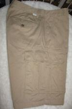 Men's Levi's Levi Strauss Khaki 6 Pocket Flat Front Casual Cargo Shorts Waist 32