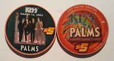 $5 Las Vegas Palms KISS Casino Chip - Version #1 - UNCIRCULATED