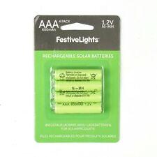 Recargable AAA AA Baterías | Solar 1.2V 3.2 V Li-ion de Litio 600mAh ni-mh