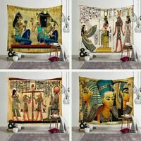 Ancient Egypt Tapestry Home Wall Hanging Backdrop Cloth Bedspread Room Decor