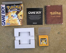 Pokemon Yellow Pikachu Edition [ NINTENDO GAMEBOY ] BOXED & COMPLETE Game boy