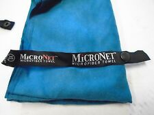 McNett Micronet Microfiber Suede Towel with Zipper Carry Case Large Blue