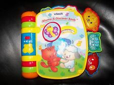 VTech - Rhyme and Discover Book EUC