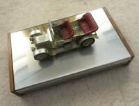 Lesney Veteran Cars - 1911 Daimler - on metal Cigarette Box