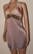 Satin Party Dresses for Women with Sequins