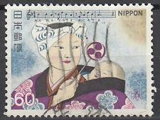 Japan gestempelt Geisha Kabuki Theater Schauspieler Tracht Tradition / 461