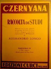 CZERNYANA RACCOLTA DI STUDI  OPERE DIDATTICHE DI CARLO CZERNY  FASC,IV 25 STUDI+