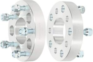 """2X 5x5.5 to 5x5 Wheel Spacers 1.5"""" For Dodge Ram 1500 Durango Ford F-150 Bronco"""