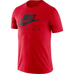 Nike Men's University Of Georgia Bulldogs NCAA Essential Futura T-Shirt 3XL NEW