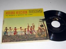 45rpm EP w/Jacket MARIANO MERCERON De Madrid A Mexico Via Cuba RCA MKE-226 VG++