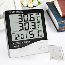 LCD Digital Thermometer Hygrometer Indoor/Outdoor Temperature Humidity Meter